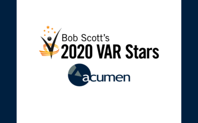 Bob Scott's VAR Stars 2020 Announced: Acumen Information Systems Selected as a Member