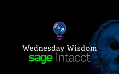 Extend the Functionality of Your Sage Intacct Solution: Learn More at Wednesday Wisdom
